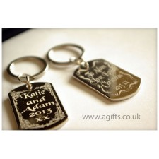 Keyring with names - agifts.co.uk